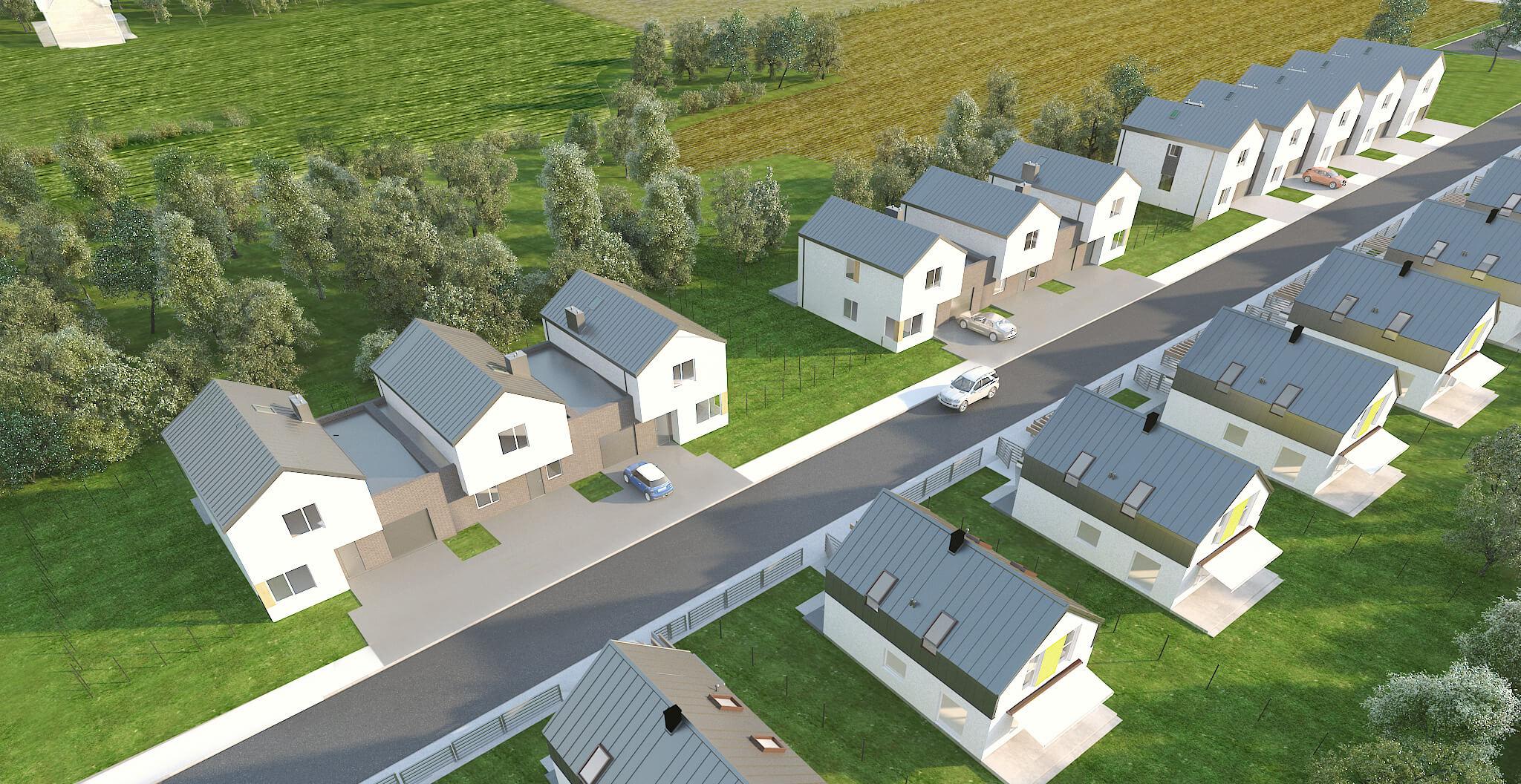 EcoMłynek plan osiedla